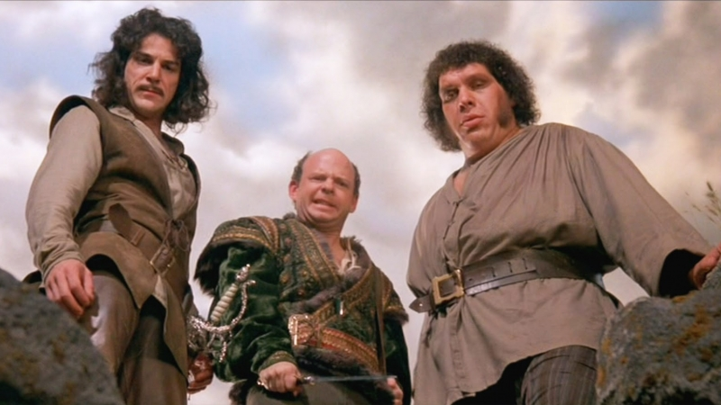 The Princess Bride - three amigos